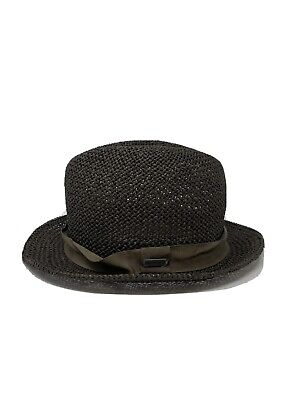 Kangol Men's Brown Natural Straw Player Hat NEW NWT Size Large -