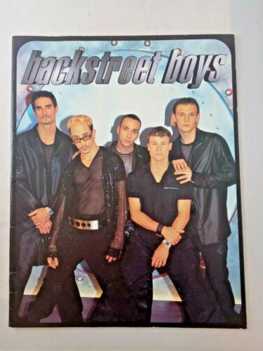 BACKSTREET BOYS 1998 Tour Concert Program Tour Book VG CONDITION