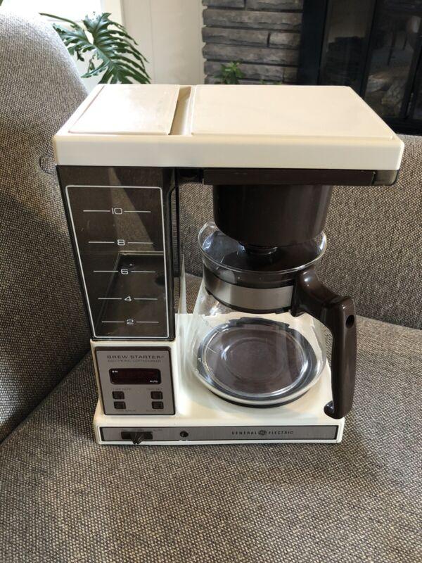 Vintage GE Brew Starter DCM15 Drip Coffeemaker w/ Original Box + Manual