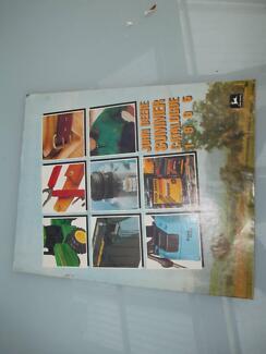 John Deere Summer Catalouge 1995 Golden Grove Tea Tree Gully Area Preview