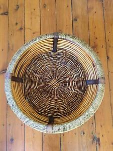 Massive fruit wicker hamper basket Hornsby Hornsby Area Preview