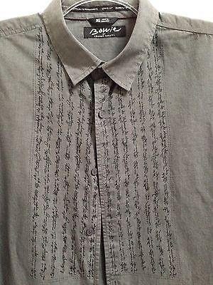 "David Bowie Mens Long Sleeve Shirt by Keanan Duffty  ""Let's Dance"" Lyrics XL"