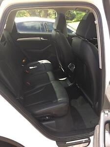 2012 Audi Q5 Wagon, Ibis White with S-Line, Nav & Sunroof Gymea Bay Sutherland Area Preview