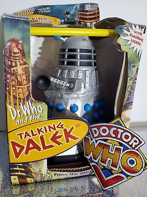 2001 Doctor Who Talking Dalek w/ box Evil Of The Daleks Exclusive