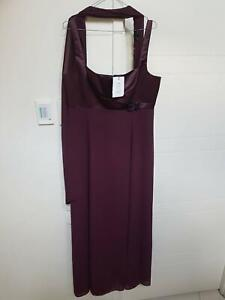 Brand new size 16 Zhivago Purple chiffon Prom style evening gown RRP$ Kangaroo Point Brisbane South East Preview