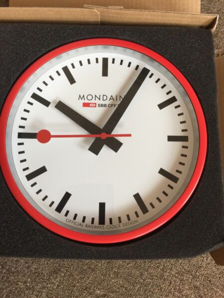 The original Mondaine wall clock Clocks Gumtree Australia