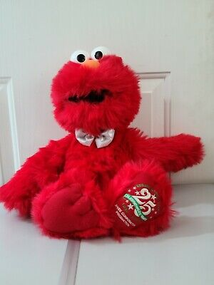 "Sesame Street Live Celebrating 25 Years LARGE ELMO 20"" Plush STUFFED ANIMAL Toy"