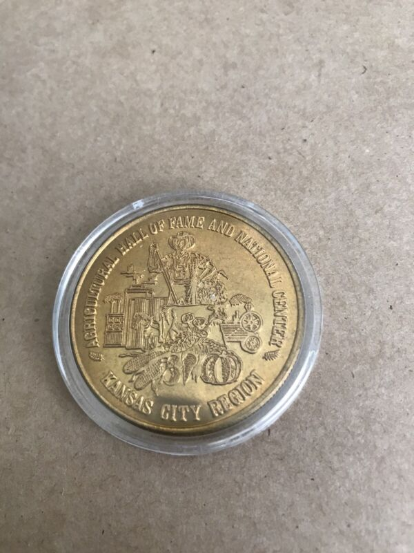 Agricultural Hall of Fame and National Center, Kansas City Region #300 Coin