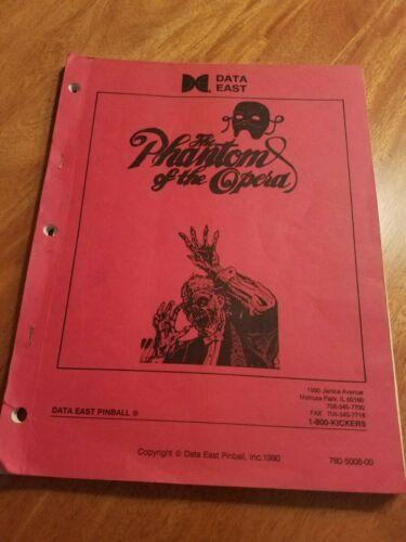 Phantom of the Opera  pinball manual