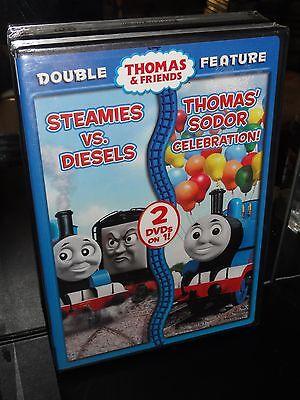 Thomas & Friends - Steamies Vs. Diesels / Thomas Sodor Celebration! (DVD) NEW!