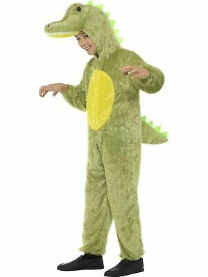Boys Girls Crocodile Costume Kids Animal School Book Week Fancy Dress Party - Peter Pan Crocodile Costume
