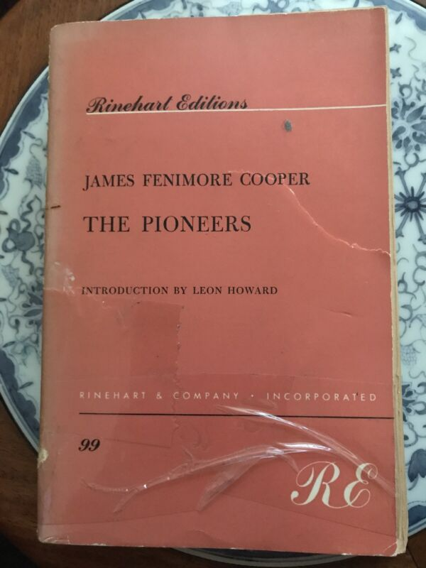 The Pioneers by James Fenimore Cooper Literature & Fiction publication 1959