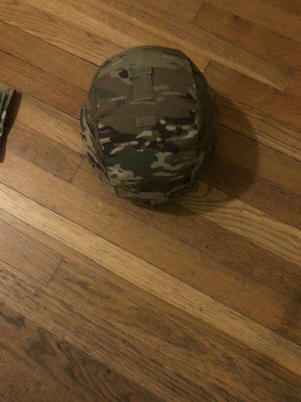 US Army Gentex ACH Combat Helmet MICH Medium Multicam OCP