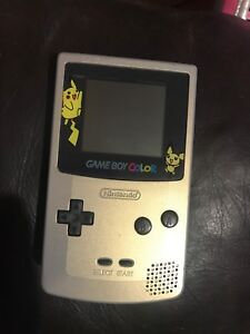 Authentic gold and silver Pokémon game Boy Color