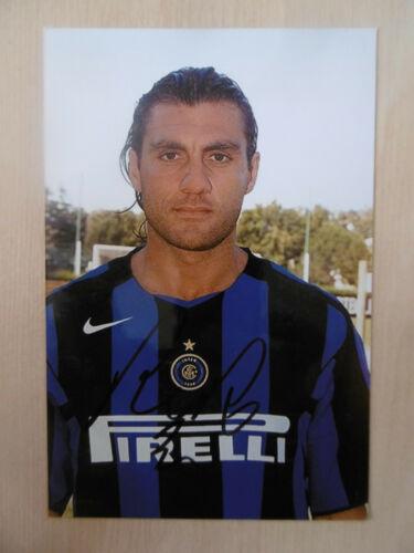 "Christian Vieri ""Inter"" Autogramm signed 10x15 cm Bild"