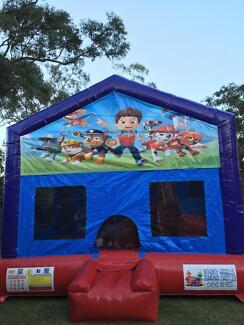 Paw Patrol C4 combo Jumping Castle Hire