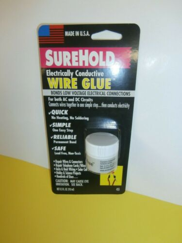 78-SH-455 SUREHOLD ELECTRICAL CONDUCTIVE WIRE GLUE FOR LOW VOLTAGE CONNECTIONS