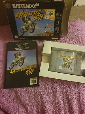 Excitebike 64 - N64 Game - Boxed + Instructions