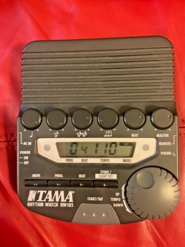TAMA RW105 Rhythm Watch Digital Programmable Metronome - TESTED AND WORKING