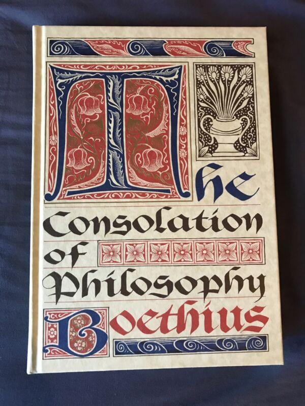 BOETHIUS THE CONSOLATION OF PHILOSOPHY FOLIO SOCIETY VG CONDITION