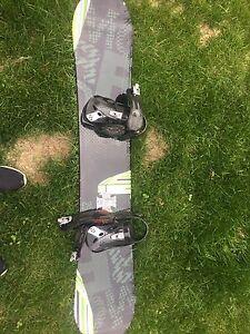 Snowboard in good shape, Morrow lithium board.