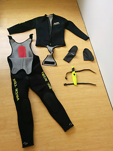 Spearfishing set good quality cressi Silver Sands Mandurah Area Preview