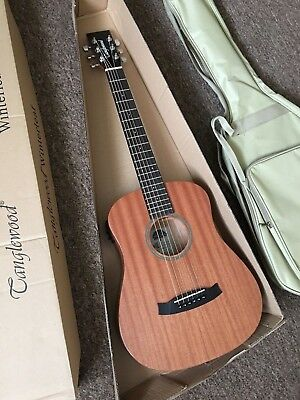 RRP £249 Travel Electro Acoustic Guitar Scaled-down orchestra + Fitted gig bag.