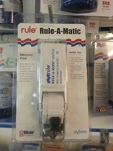 Rule A Matic Bilge Pump Float Switch. Model 35A. Rule 360, 500, 800 etc