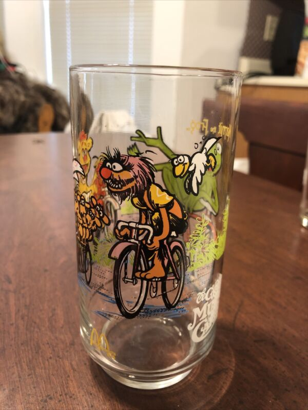 1981 The Great Muppet Caper Glass Vintage