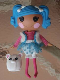 """LARGE LALALOOPSY DOLL """"MITTINS FLUFF N STUFF"""" DRESSED WITH PET GC"""