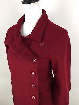 TULLE Women's casual dress coat wool evening classic boutique Size/XL Color (Classic Red Wool Dress Coat)