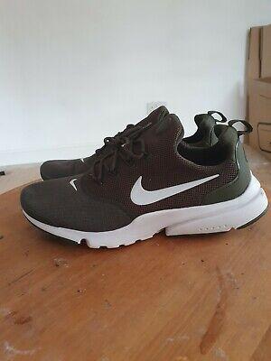 Nike Presto trainers,colour clay green, white in size 9