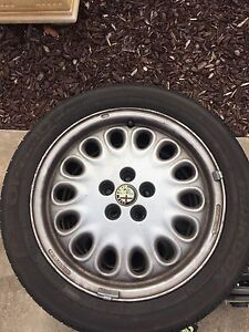 Alfa Romeo gtv rims and tyres Richmond West Torrens Area Preview