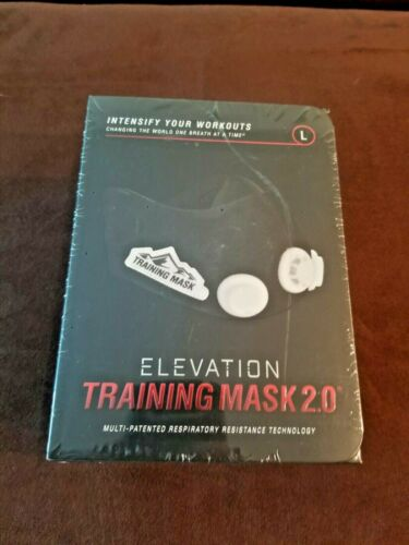 🔥 Large ELEVATION Training Mask 2.0 👍 Respiratory Resistance Technology