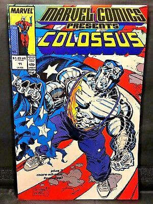 Marvel Comics Presents Colossus #11  Marvel Comic Book  Sharp Unread Copy!