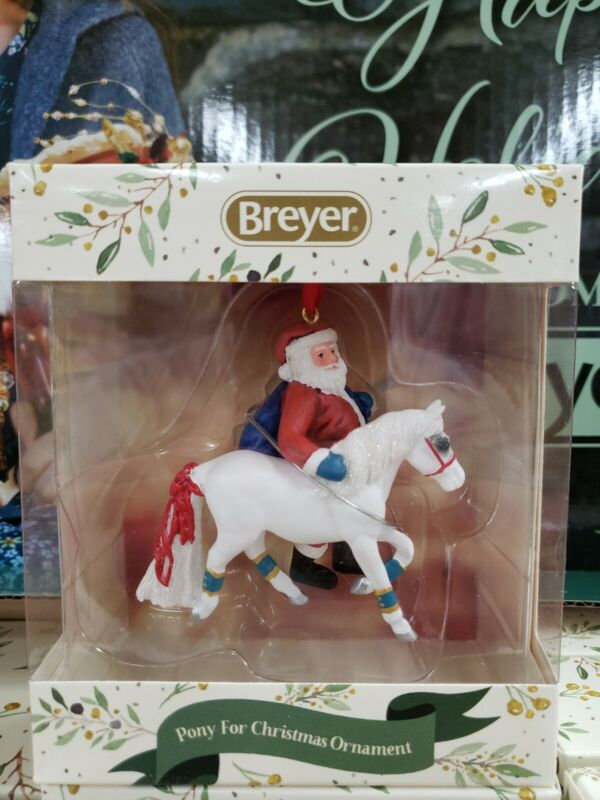Breyer Pony For Christmas Ornament 2019 *NEW* #700652