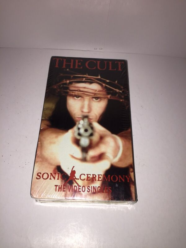 The Cult Sonic Ceremony VHS The Video Singles Rare Sealed NEW Mint Condition