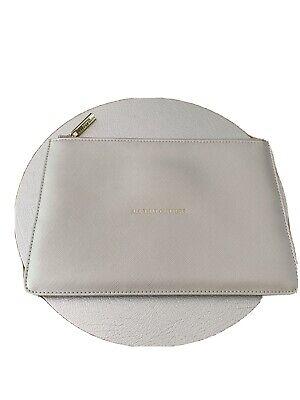 katie loxton Silver Pouch Clutch Bag