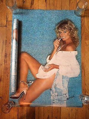 "Vintage ProArts Farrah Fawcett ""Farrah Blue"" poster 20x28 (sealed/NOS)"
