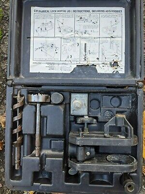 Porter Cable Model 511 Cylindrical Lock Boring Jig Kit
