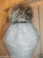 Cappello Hat Pompon Muetze Angora Pelliccia Fur Volpe Argentata Pelz Fuchs Fox - fuchs - ebay.it