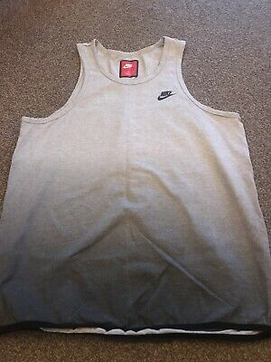 Mens Grey Nike Vest Top Size Large