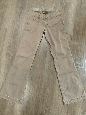 Hollister Pants, Small Regular, Brown, Low Rise, Stretch