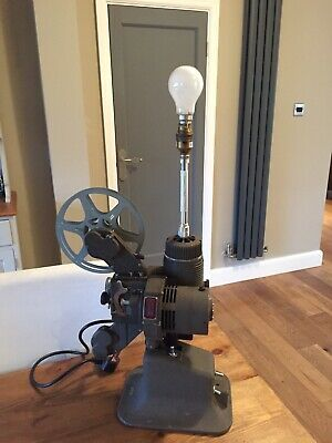 Vintage Upcycled Projector Table Lamp