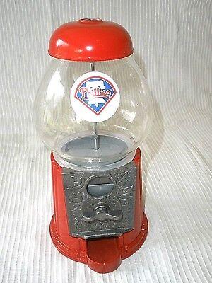 MARS INC SMALL GUMBALL MACHINE  (WITH PHILLIES LOGO) (Small Gumball Machine)