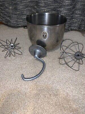 Kitchenaid Mixer 5 Quart Bowl And Attachments