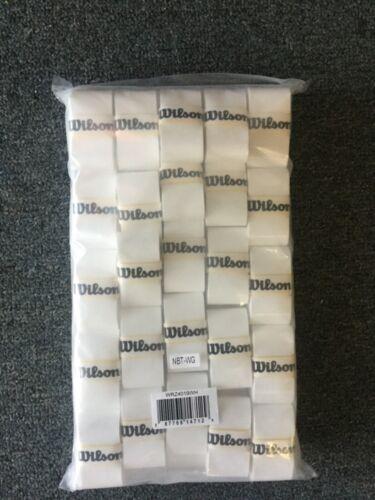 New Wilson Pro Overgrip Tennis Grip 50 Pack White