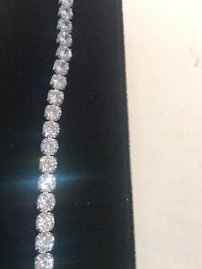 10ct Diamond Tennis Bracelet 7 0