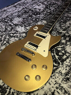 Epiphone Les Paul Traditional PRO Electric Guitar, Limited Edition, Gold Top