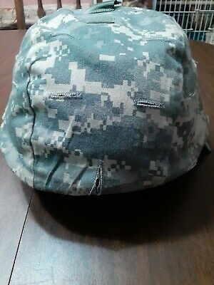 Gentex  Advanced Combat Helmet ACH With Cover Strap Padding US Army SZ Large